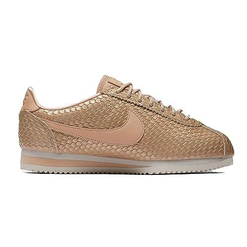 Zapatillas Nike Classic Cortez SE BEIG Mujer 37 5 Tostado: Amazon.es: Zapatos y complementos