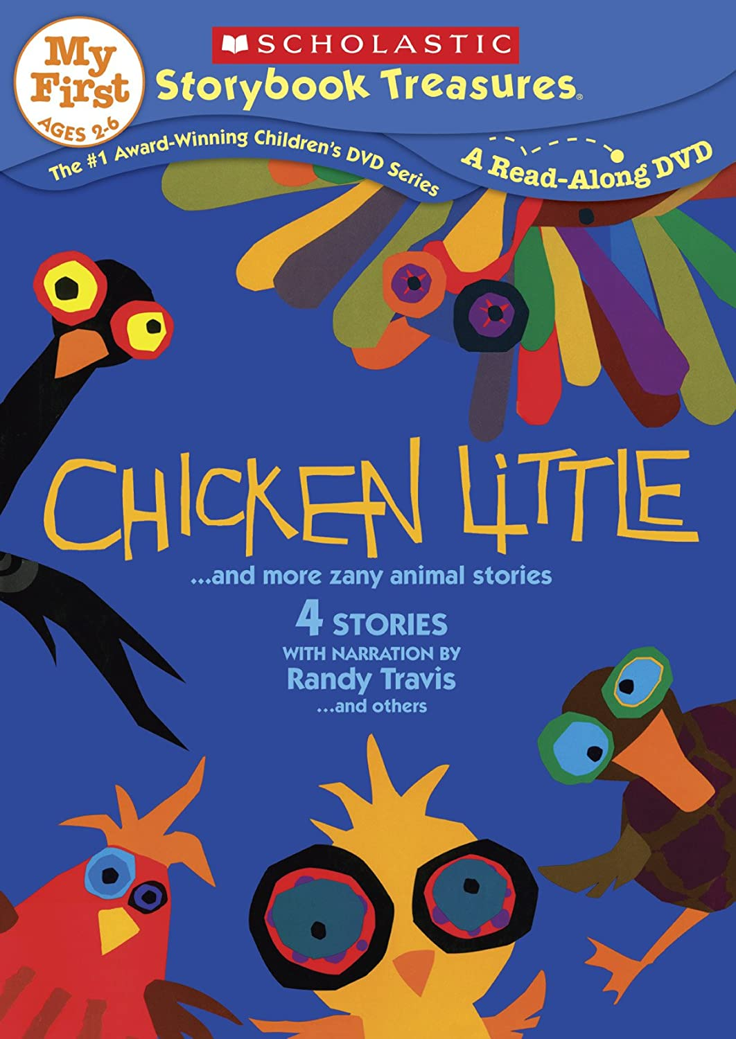Uncategorized Animal Stories amazon com chicken little more zany animal stories various scholastic movies tv