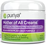 Puriya Daily Moisturizing Cream for Dry, Itchy and Sensitive Skin, Face