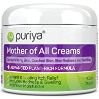 Puriya Daily Moisturizing Cream for Dry, Itchy and Sensitive Skin, Face and Body...