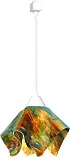 product image for Jezebel Signature JRWH-FP12-DAY-TRWH White Flame Track Light, Small, Daylily
