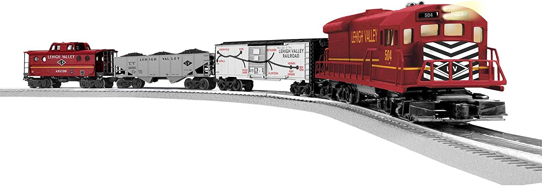 Amazon Com Lionel Trains Lehigh Valley Freight Lionchief Set