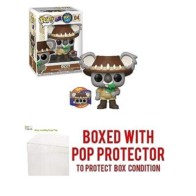 Pop Around The World: Ozzy Australia Limited Edition #4 Pop Vinyl Figure (Includes EcoTEK Pop Protector Case): Toys & Games