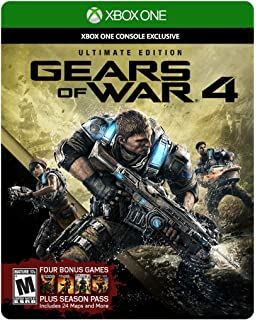 Gears of War 4: Ultimate Edition (Includes SteelBook with Physical Disc + Season Pass + Early Access)