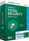 Combo Pack- Kaspersky Total Security Multi Device - 1 User, 1 Year (CD) + Kaspersky Internet Security for Android