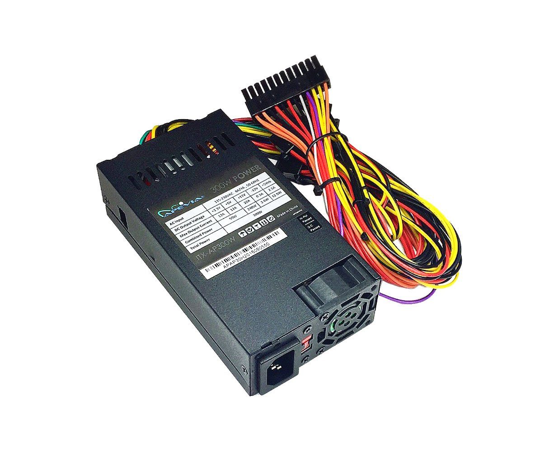 Apevia ITX-AP300W Mini-ITX/Flex ATX 300W Solid Power Supply - Black