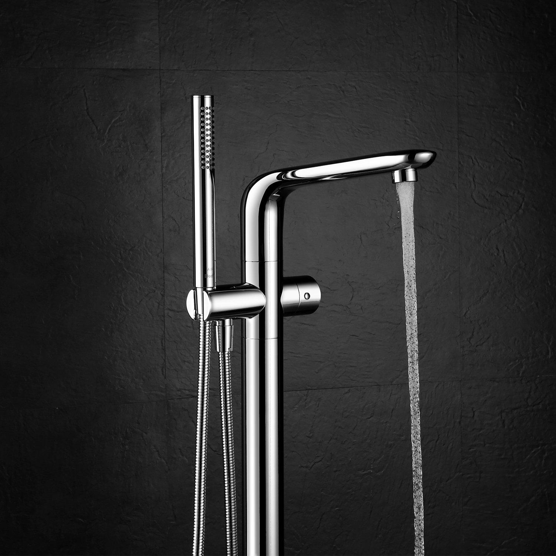 Floor Mounted Bathtub Faucet Set - Doris FA003 Free Standing ...