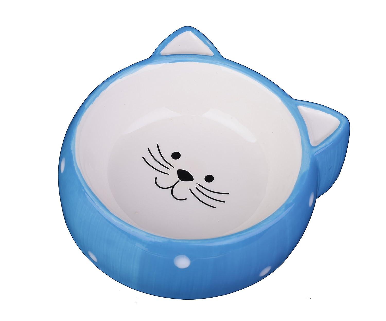 MushroomCat Ceramic cat bowl pet cat ears
