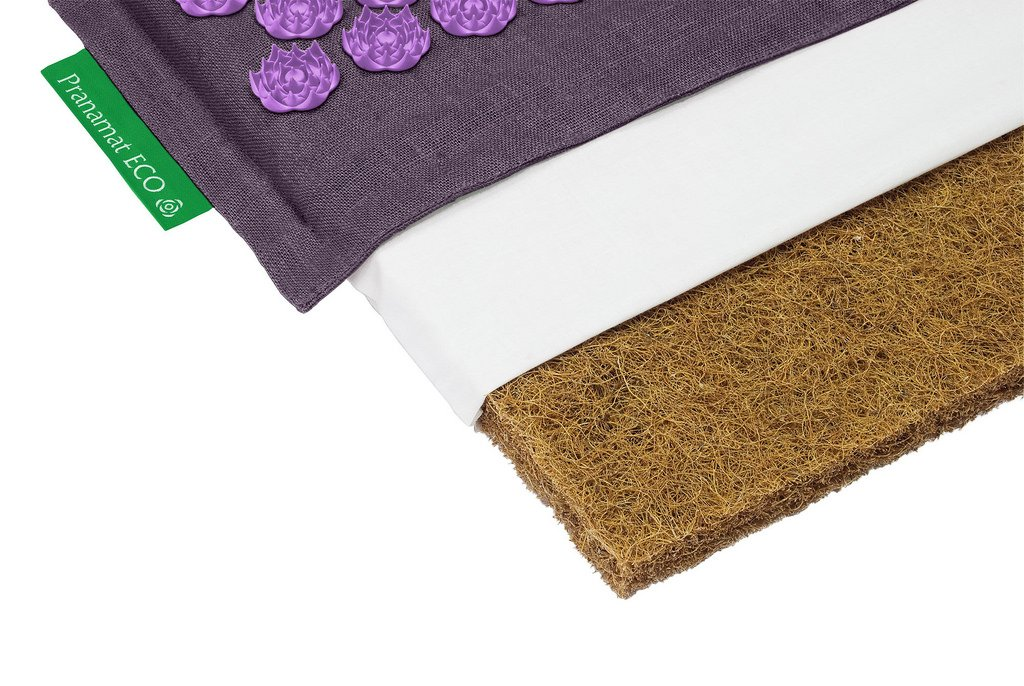 Pranamat ECO Therapeutic Manual Massage Mat (Lavender Lavender) by S-ANT (Image #7)