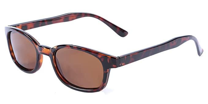 Gafas de sol de policarbonato polarizadas, protección 100% UV, lente con antireflejo y funda incluida Marrón Tortoise Brown: Amazon.es: Ropa y accesorios
