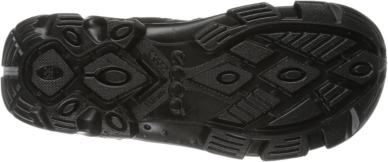 Ecco Boys' Snowboarder Denim Su/Te Boots Black