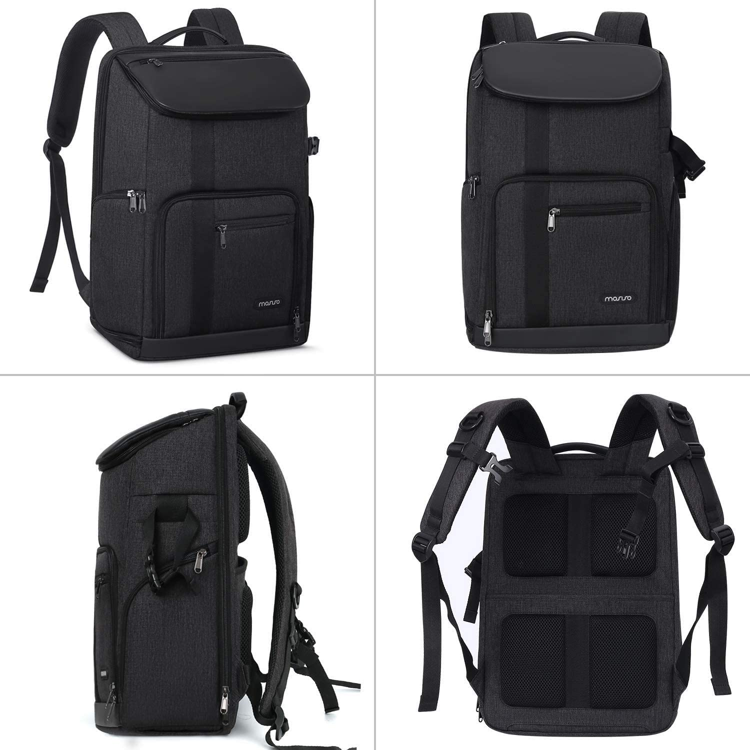 Space Gray MOSISO Camera Backpack 17.3 inch DSLR//SLR//Mirrorless Case Large Men//Women Photography Camera Bag with Laptop Compartment/&Tripod Holder/&Rain Cover Compatible with Canon//Nikon//Fuji//MacBook
