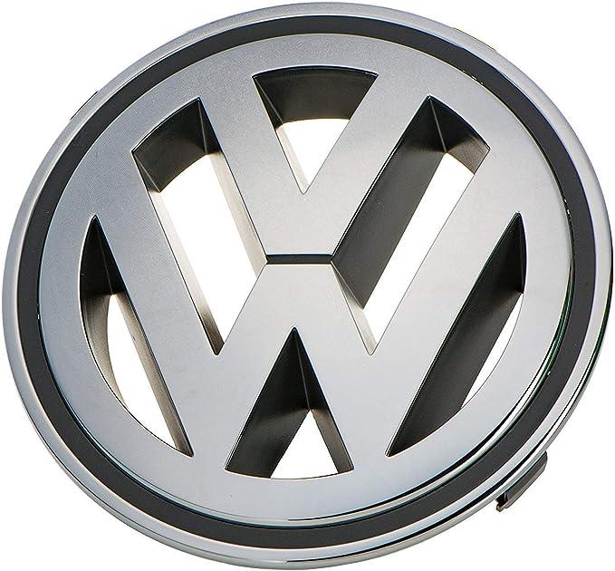 NEW GENUINE VW CC 09-12 TIGUAN 09-11 FRONT GRILL VW BADGE EMBLEM CHROME