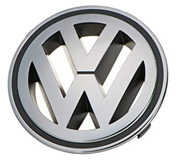 Recambios Originales Volkswagen Emblema parrilla delantera 150 mm ...