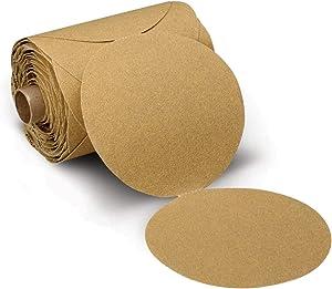 3M Stikit Paper Disc Roll 236U, P220 C-weight, 5 in x NH, Die 500X