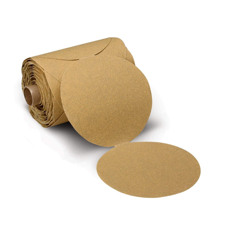 3M Stikit Paper Disc Roll 236U, P80 C-weight, 6 in x NH, Die 600Z