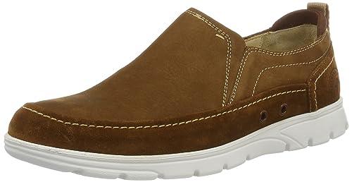 Panama Jack Dorian, Mocasines para Hombre, Marrón (Bark), 44 EU: Amazon.es: Zapatos y complementos