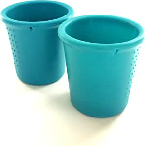 Silicone Cups - Teal