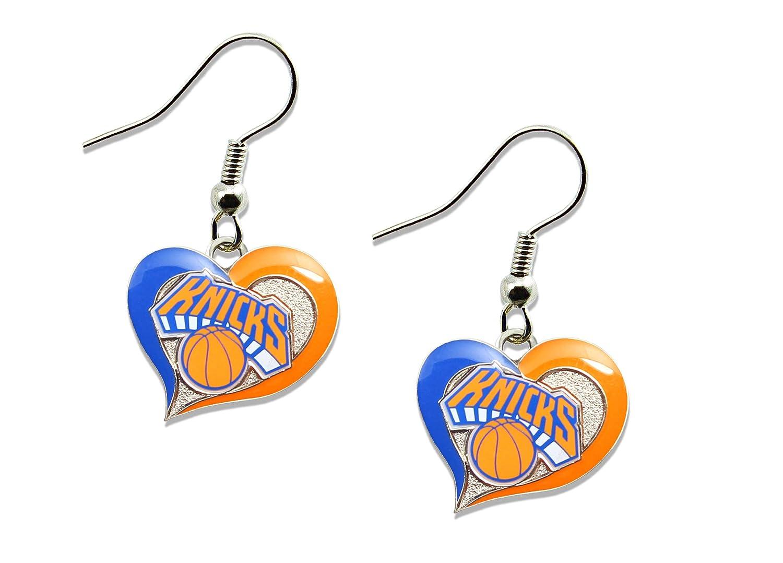 New York Knicks boucles d'oreilles Aminco NBA-ER-245-04