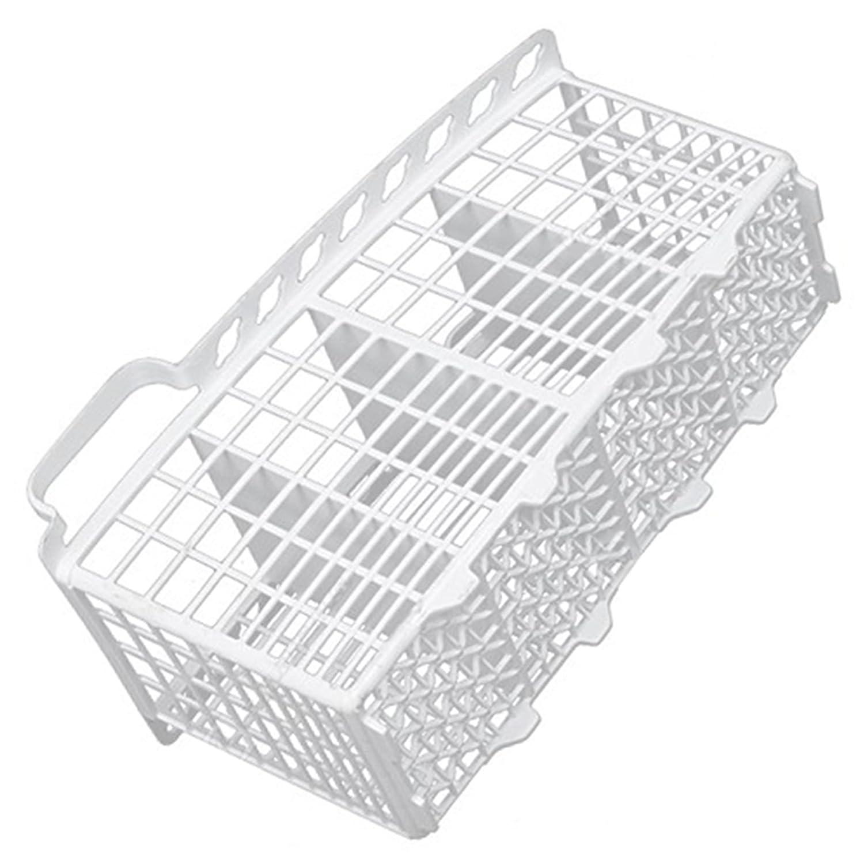 W230 x D110 x H135mm Genuine Indesit IDE44UK IDL40UK.C Slimline Dishwasher White Cutlery Basket