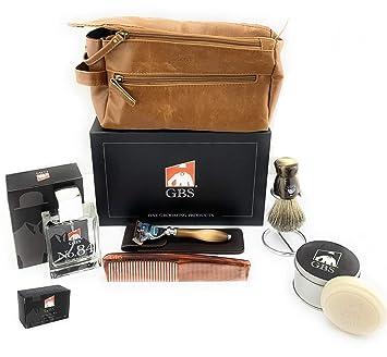 1bedbbb19943 Amazon.com: GBS Men's Deluxe Travel Doppler Grooming Beard and Wet ...