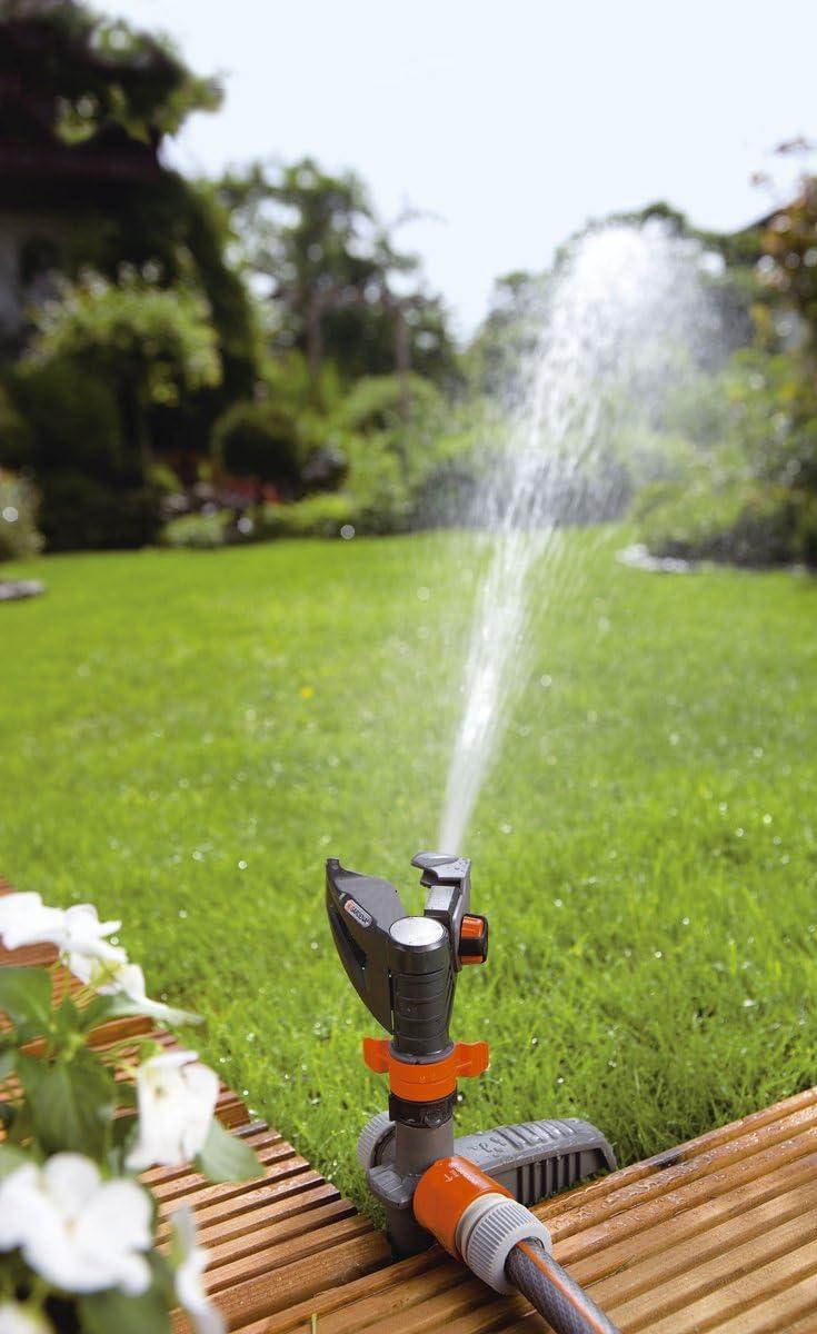 Gardena Comfort Arroseur circulaire Mambo-Rotatif Pelouse Système d/'irrigation 310 m²