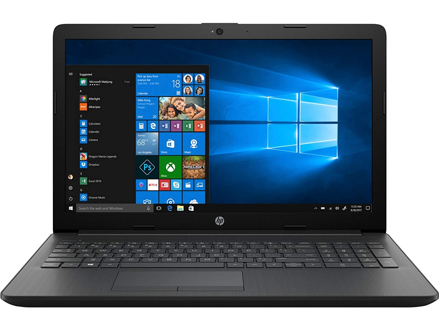 HP 15 AMD Ryzen 3 15.6 inch Laptop  4 GB/1TB HDD/Windows 10 Home/Sparkling Black/2.04 kg , dy0004AU Laptops
