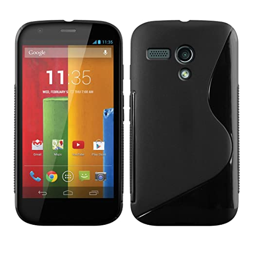 40 opinioni per kwmobile Cover per Motorola Moto G (2013)- Custodia in silicone TPU- Back case