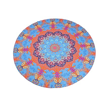 Impreso Mandala redondo Roundies, playa manta toalla de playa (Cover Ups, indio Mandala