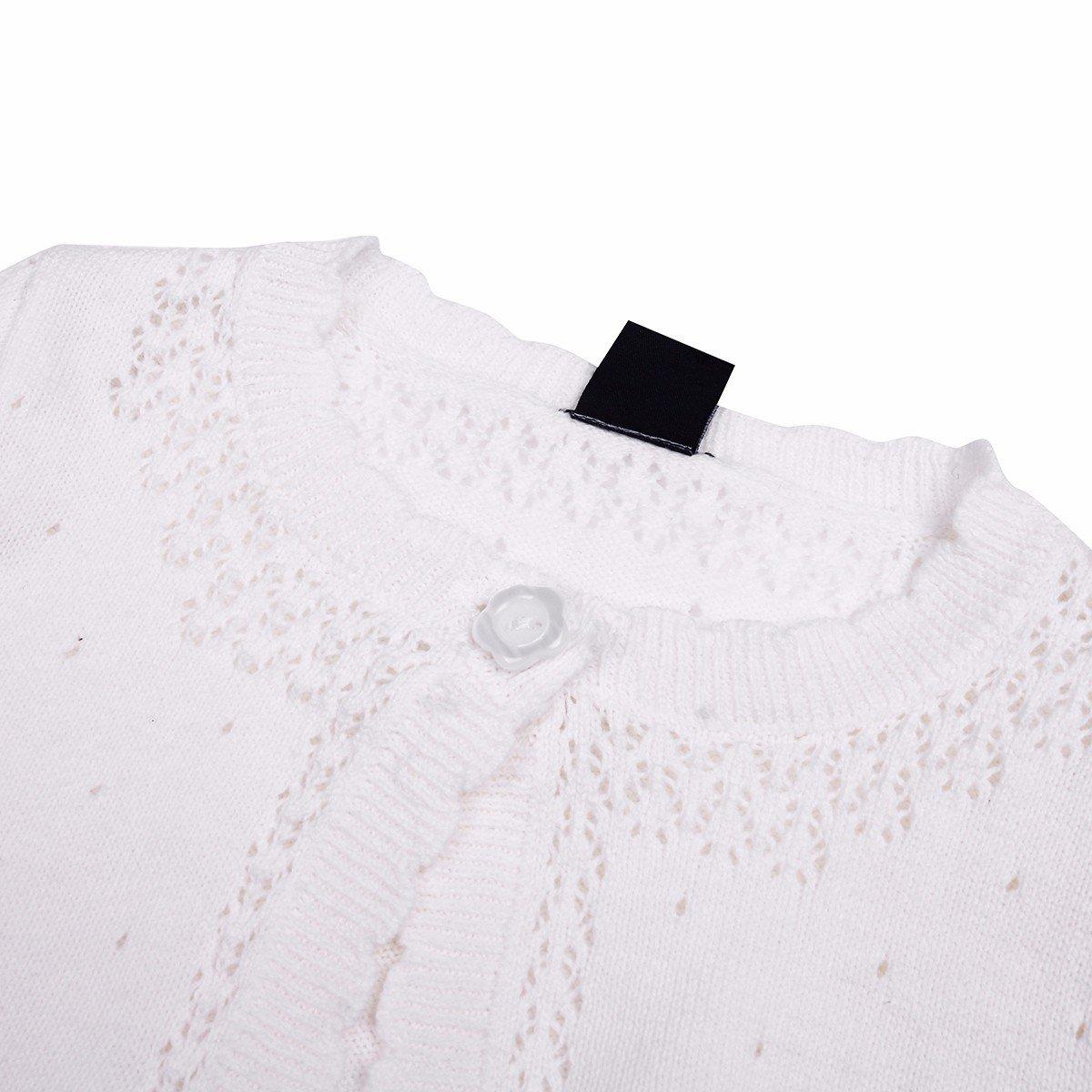958599829 Amazon.com  FEESHOW Baby Girls Long Sleeve Knit Cardigan Sweater ...