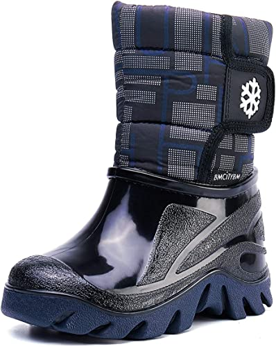 Toddler Little Boys Size 6 Black /& Blue SNOW  Boots New..