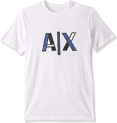 Armani Exchange Youth Tonic Logo Camiseta para Hombre: Amazon.es: Ropa y accesorios