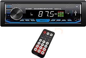 Car Stereo Audio in-Dash FM Aux Input Receiver SD USB MP3 Radio Player Bluetooth