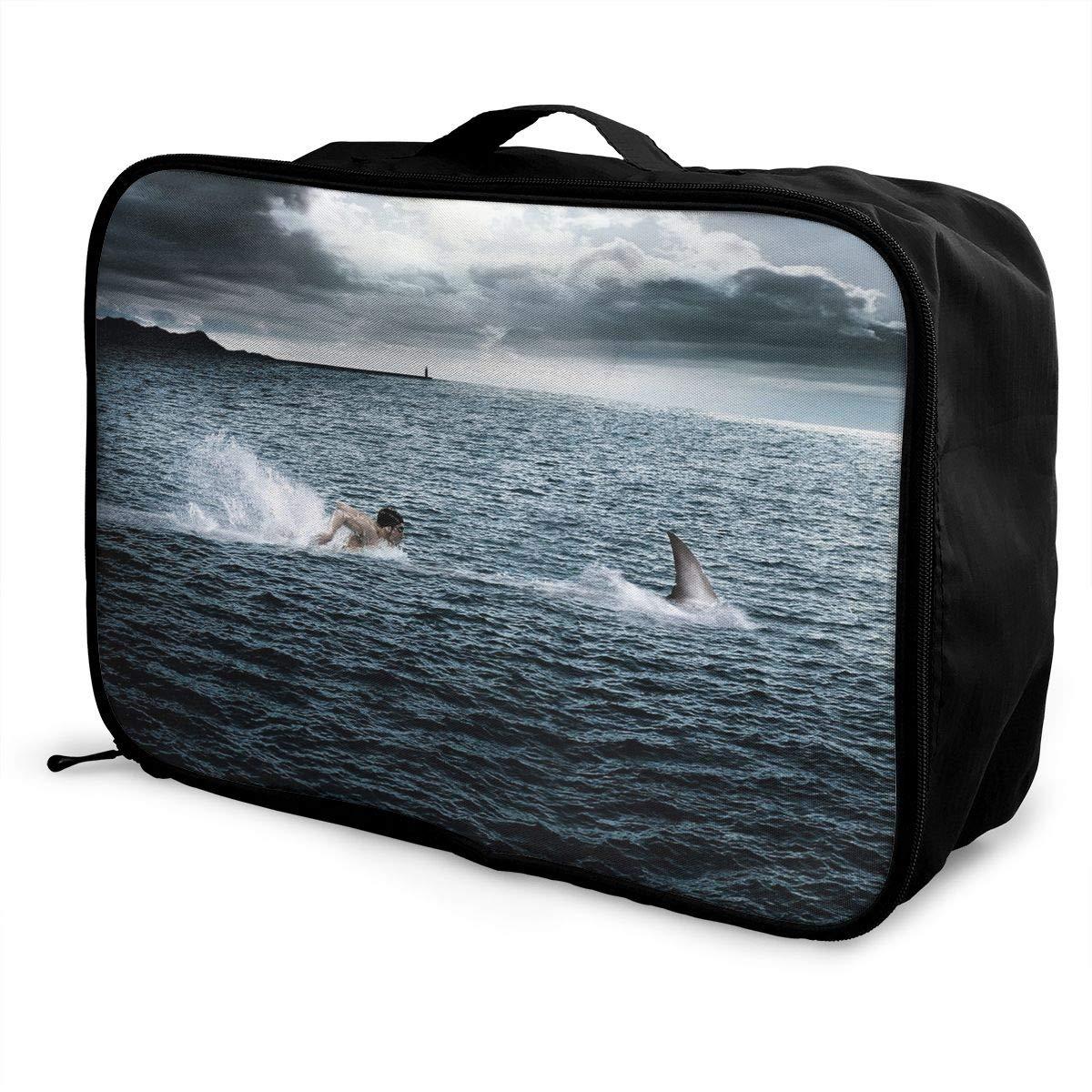 Travel Luggage Duffle Bag Lightweight Portable Handbag Piano Music Large Capacity Waterproof Foldable Storage Tote