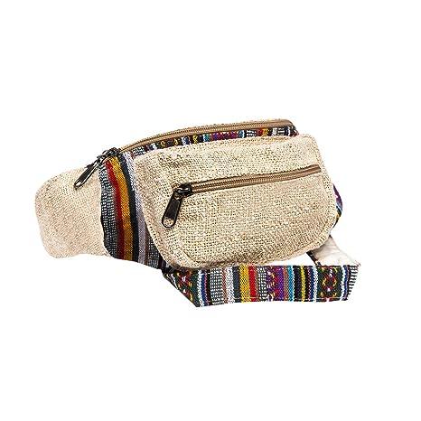 952b9fa543599 Amazon.com | CoreHemp Fanny Pack for men and women Waist Belt Bag Handmade  packs From Pure Hemp (Classic) | Waist Packs