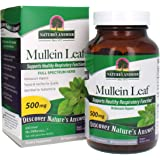 Nature's Answer Mullein Leaf Verbascum Thapsus 500mg | Herb Ideal for Immune and Inflammation | Full Spectrum Herb…