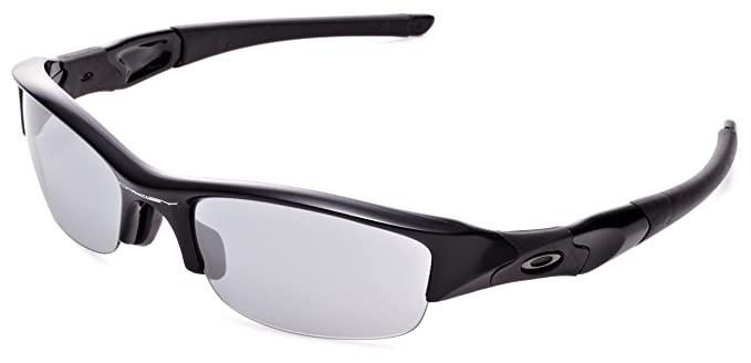 5eebad1338 Amazon.com  Oakley Men s Flak Jacket Non-Polarized Iridium ...