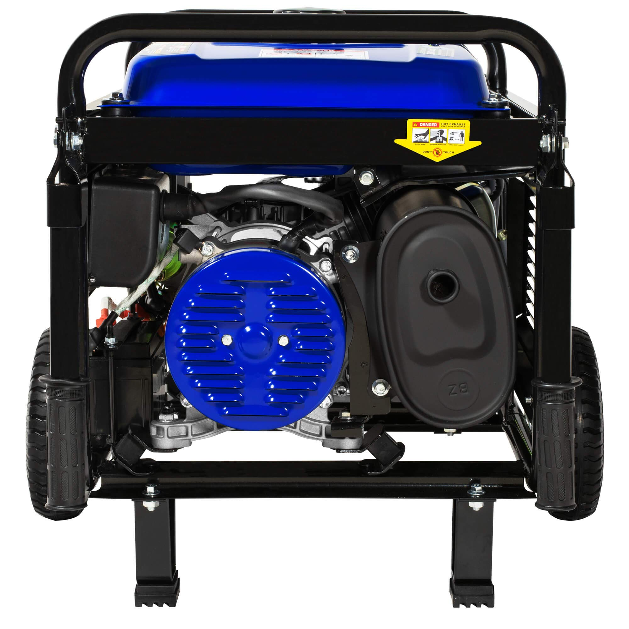 DuroMax XP5500EH 5,500 Watt 7.5 HP Portable Electric Start Dual Fuel Gas/Propane Generator by DuroMax (Image #6)