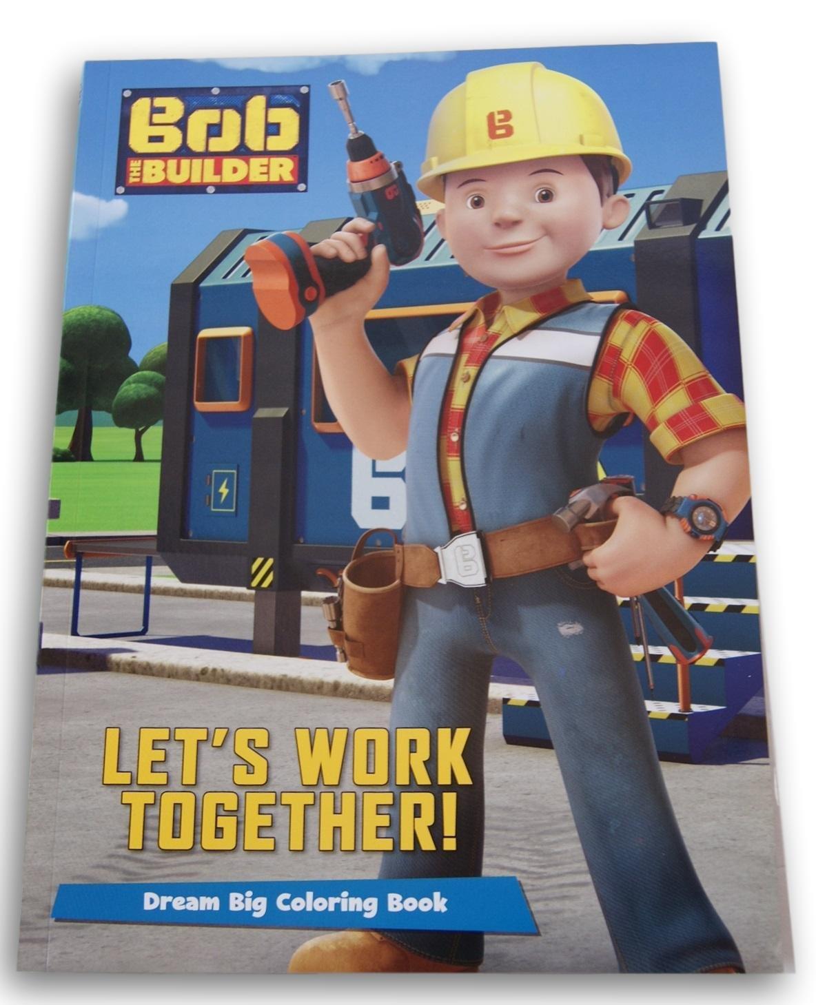 Coloring Book Parragon Inc Bob the Builder Lets Work Together