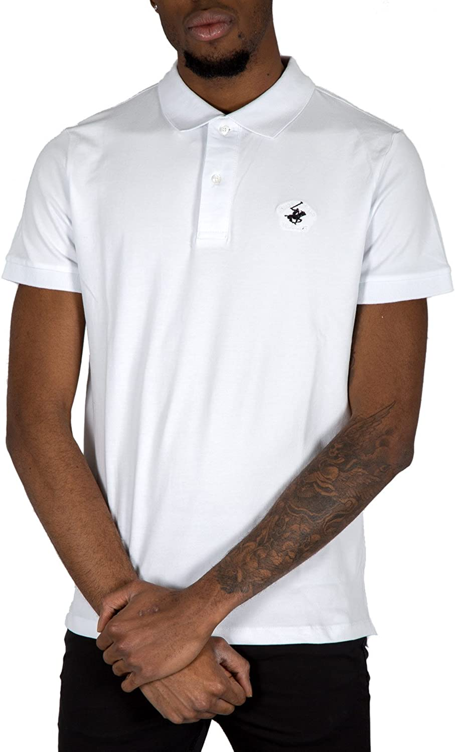 Beverly Hills Polo Club - Camiseta - para Hombre Blanco XXXX-Large ...