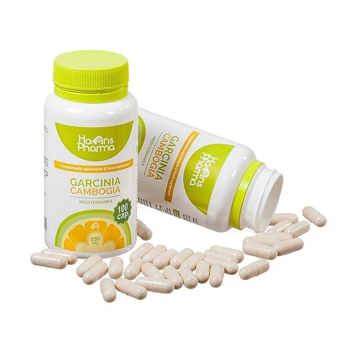 Garcinia Cambogia - Pastillas quemagrasas con cromo metabolizador de grasa y carbohidratos, potente quemagrasas (Fat Burner). 100% Puro 60% (HCA) ...