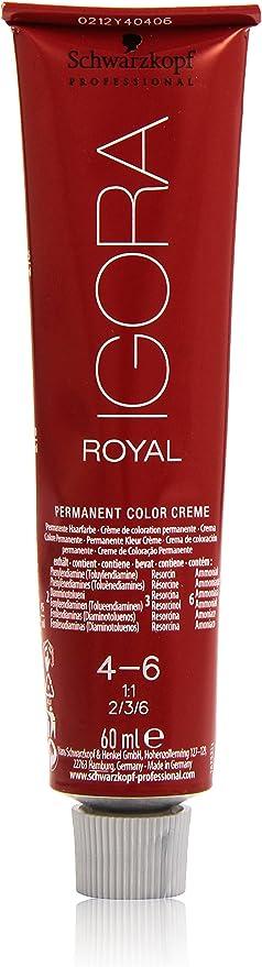 Schwarzkopf Professional Igora Royal 4-6 Tinte - 60 ml