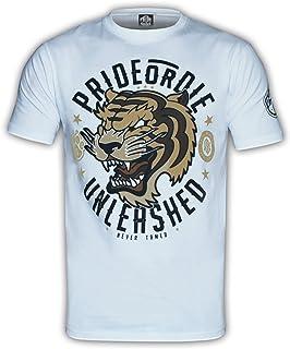 Pride or Die Unleashed T-Shirt White Prideordie POD-117-TShirt-UNLEASHED