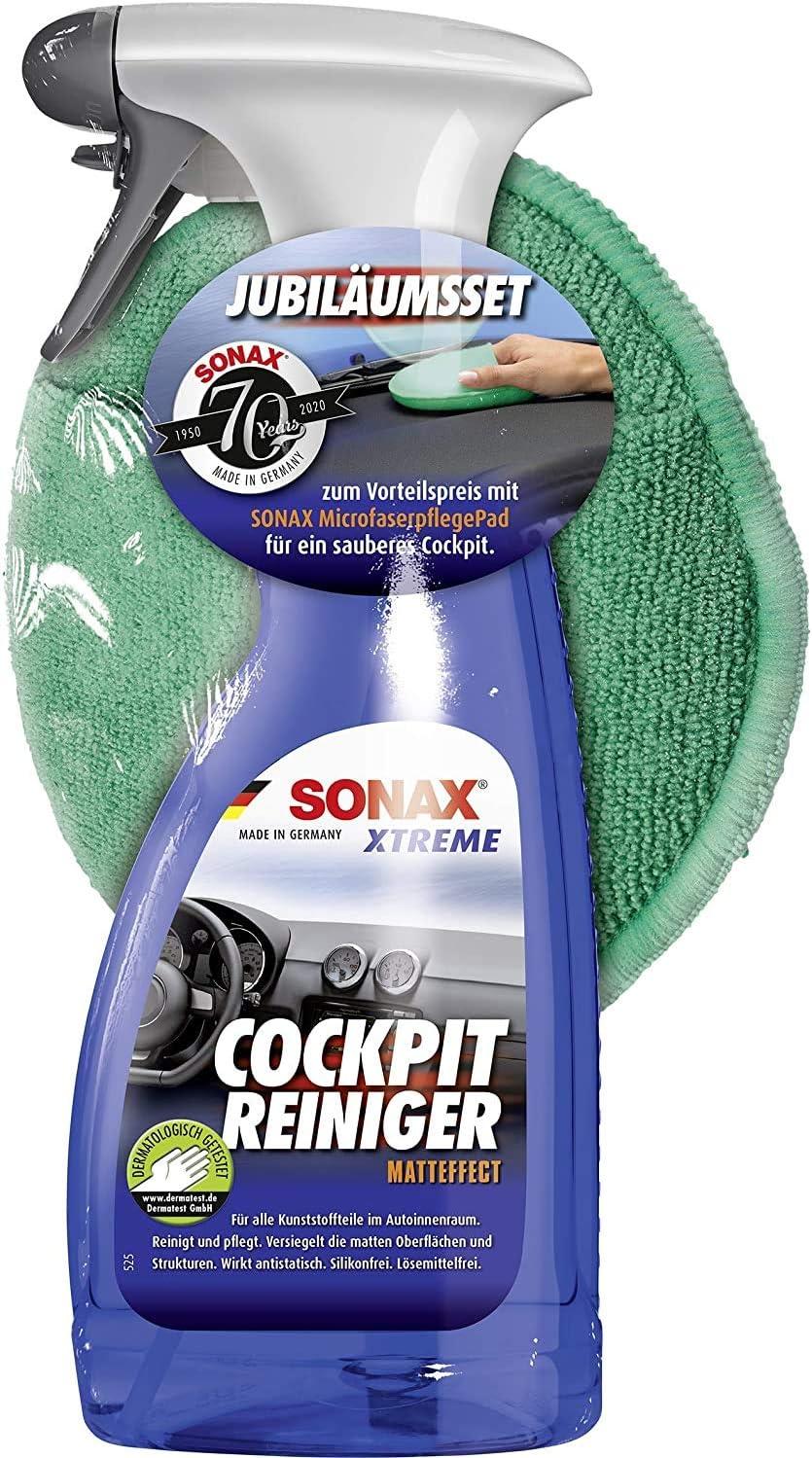 Sonax 02837410 Cockpitpflegeset 500 Ml Auto