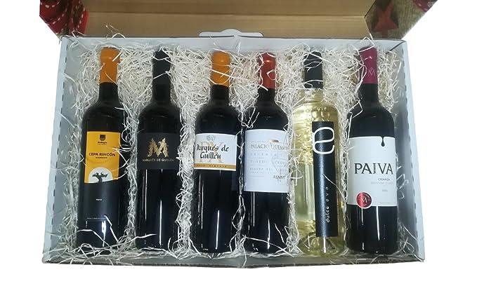 Cesta original para regalar con vinos de Ribera del Guadiana ...