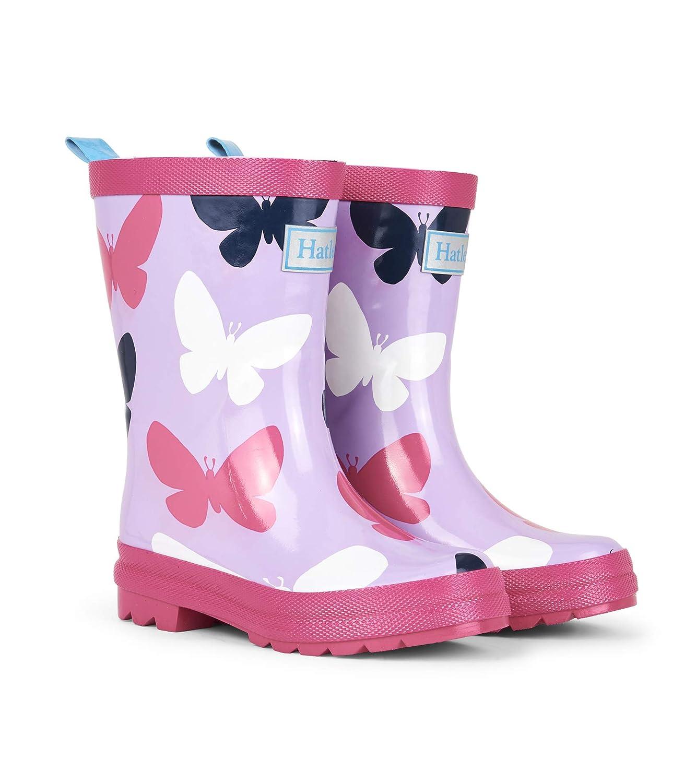 Hatley Butterfly Rain Boots Pink