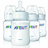 Philips AVENT Classic+ PP Bottle 260ml (4 pack)