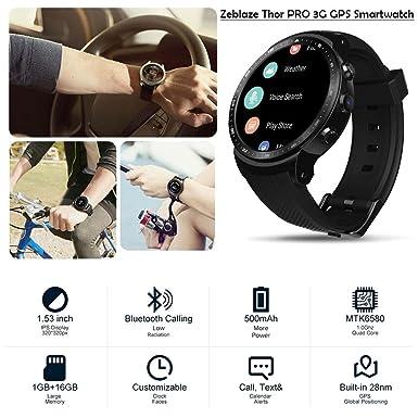 Amazon.com: Labyrinen New Zeblaze Thor PRO Smartwatch ...