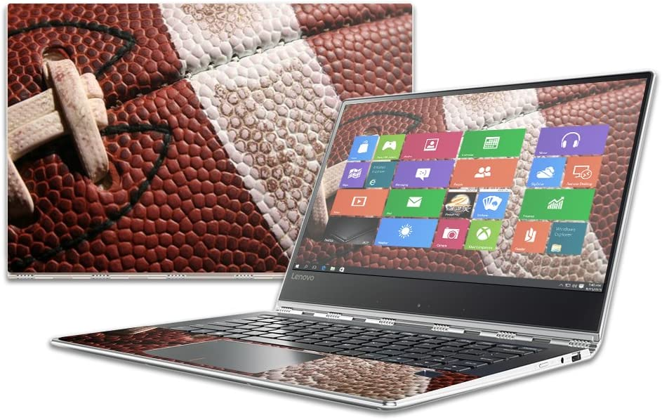 """MightySkins Skin Compatible with Lenovo Yoga 910 14"""" wrap Cover Sticker Skins Football"""