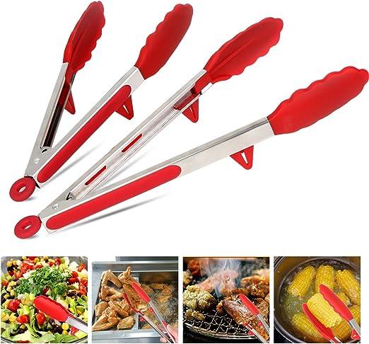 Extra Long Cuisine Pinces Résistant à La Chaleur Cuisine Pinces Pour Barbecue Salade Barbecue